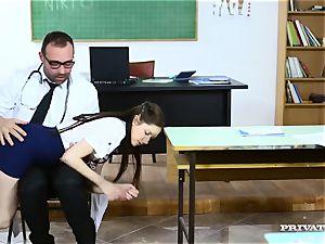 Private.com - schoolgirl Nurse Rebecca Volpetti