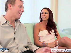 fabulous Monique Alexander kinky for the massive johnson next door