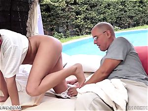 old daddy screws his nice fresh nubile stepdaughter Coco De Mal