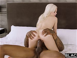 BLACKED Elsa Jean Cant Keep Her mitts Off bbc