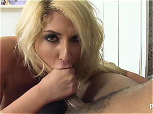 big-boobed Kelli screwed in all positions