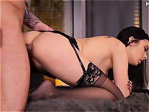 tastey Marley Brinx liking buttfuck orgy