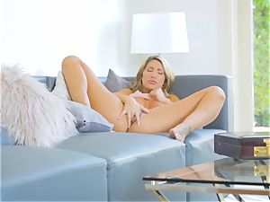 August Ames rails Logan Pierce on the bed