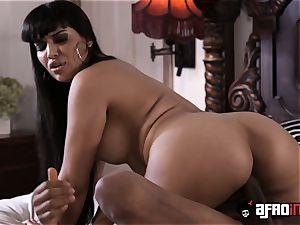big-titted Latina Mercedes Carrera bbc pulverized and creamed