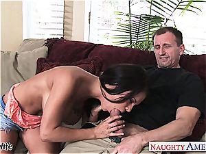 big-titted wifey Peta Jensen take man meat
