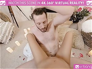 VR porn - Thanksgiving Dinner becomes wild boning