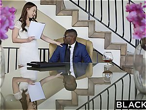 sizzling model Taylor Sands takes big black cock