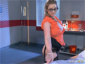 nasty medic Sunny Lane gets hold of her favourite patient