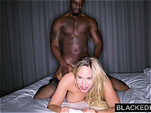 large jugged silly housewife gets slain by a gigantic black dong