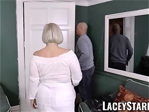LACEYSTARR - big-titted GILF negotiates a supreme poon deal