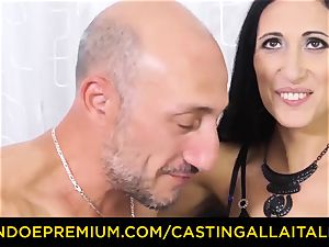 audition ALLA ITALIANA - filthy new-cummer rectal audition