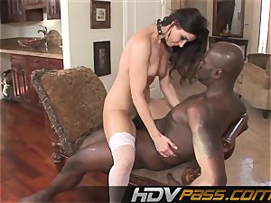 HDVPass interracial fuck-fest with India Summers