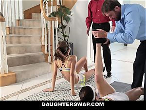 DaughterSwap - warm daughters Get stretched