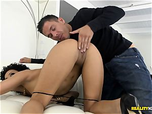 Deeply pummeling the spectacular stunner Mia Austin