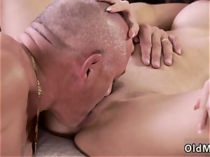 incredible and incredible hand job raunchy fucky-fucky for jaw-dropping latina stunner