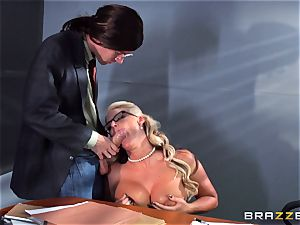 Phoenix Marie getting busted with cum by Danny D