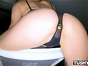 TUSHYRAW Tori ebony in her RAWEST assfuck scene Ever