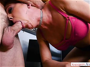 cooch boning mummy cherie Deville in the office
