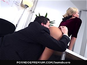 donks BUERO - Amy super-naughty torrid oral job and screw at work