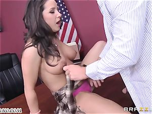 horny schoolgirl gets drilled by her lecturer Johnny Sins