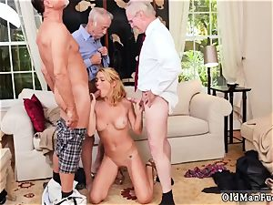 senior boy seduced by nubile gigantic tits eventually Frannkie, Dukke, and I were penetrating her all