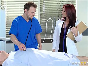 sexy doctor Monique Alexander ravages her trainee