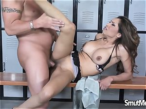 warm latina fluid pie