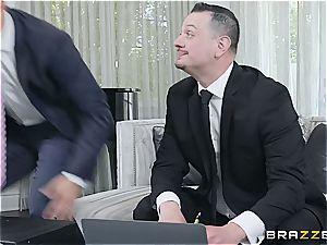 tying dude pokes his friend's wild wife
