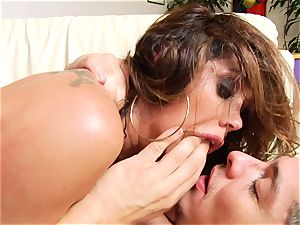 Roasting Francesca Le gets her muffin cum adorned