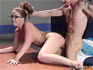 Nurse Maddy OReilly puts things right with a porking
