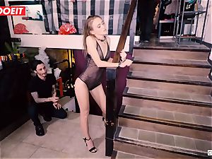Ukrainian stunner Gets numerous orgasms in steaming bdsm party