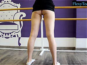 fantastic inexperienced ballerina