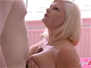 AgedLovE hard-core fucky-fucky with Mature Lacey Starr