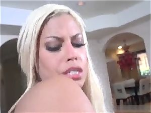 climaxing big all-natural tits