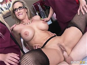 Rock rock-hard patient gets banged by doc Brandi love