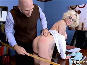 Harlow Harrison drilling the dean