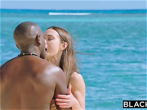 BLACKED warm wifey Cheats With big black cock on Vacation