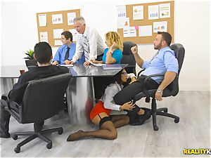 Office pound with the assistant Aubrey Rose who happens to be the bosses daughter-in-law