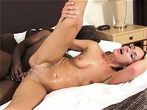 Chanel white and Francesca Le are uber-sexy