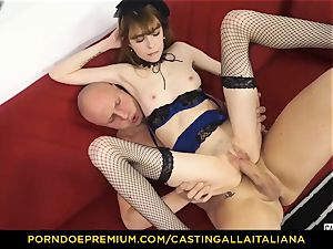 casting ALLA ITALIANA - lean honey takes fuck-stick like professional