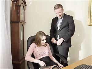 new office assistant Alice March aims to please her chief