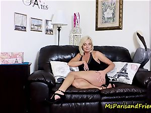jizz on Mommy's mammories with Ms Paris Rose