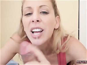 Giantess fun mother and step accomplice compeer have to share sofa Cherie Deville in