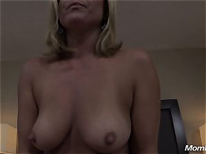 super-fucking-hot blonde cougar creampie pleasure