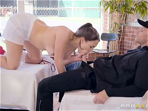 Lily love thrashed in her saucy wet minge