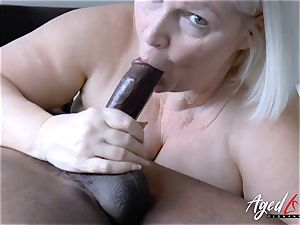 AgedLovE Lacey Starr hardcore interracial pulverize