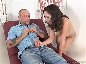 Jade Nile Has Her spouse deep-throat sausage and watch Her