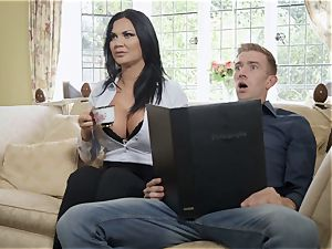 huge-titted cock-hungry milf cheats on her hubby