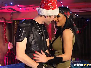 honey demon gets her Christmas fuckin'