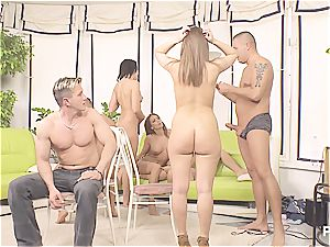 super-naughty musical chairs sex game part trio